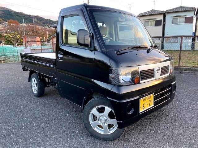 日産 NT100クリッパートラック SD 黒白ツートンカラー  ETC付 5F