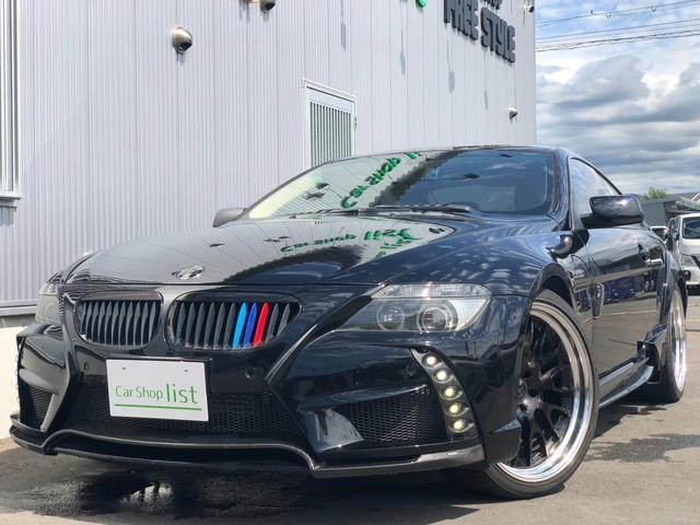 BMW 6シリーズ 630i エナジーコンプリート・純正HDDナビ・21インチAW・パワーシート・シートヒーター・HIDヘッドライト・白革シート・ETC