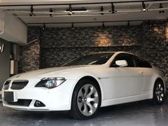 BMW645Ci 黒革シート サンルーフ 純正アルミ