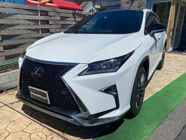 レクサス RX  サンルーフ 本革シート 純正ナビ