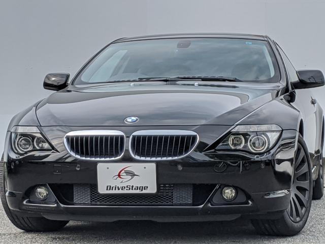 BMW 6シリーズ 630i スマホ連動ナビ/黒革/サンルーフ/ETC/HID