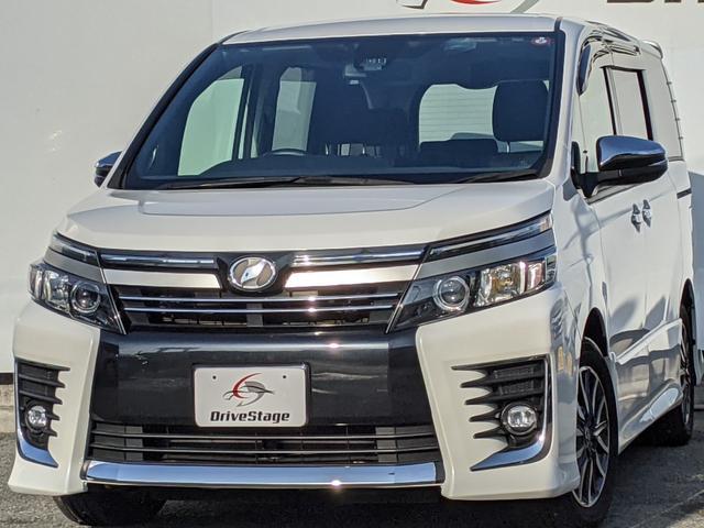 トヨタ ZS 煌II SDナビ・フルセグTV/両側電動ドア/スマートキー/LEDライト/ETC/アイドリングストップ/Bluetooth/インテリジェントクリアランスソナー/バックモニター/純正16インチアルミ