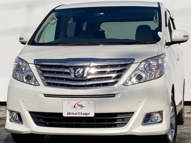 トヨタ 240G 禁煙/純正フルセグナビ/Bluetooth/DVD再生/インテリキー/前席パワーシート/オットマン/両側電動スライドドア/純正17アルミホイール/クリアランスソナー/車検整備付き