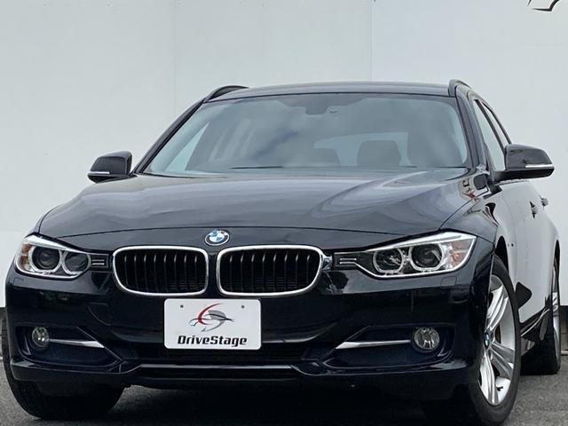 BMW 3シリーズ 320dブルーパフォーマンス ツーリング スポーツ 禁煙/純正HDDナビ/Bluetooth/DVD再生/ETC/Bカメラ/キーフリー/パドルシフト/パワーバックドア/M付パワーシート/HID/パーキングセンサー/純正17アルミ/車検整備付き