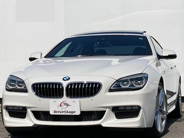 BMW 640iグランクーペ Mスポーツ パーキングサポートPKG/純正HDDナビ・地デジ/HUD/ガラスルーフ/1オーナー/禁煙/ACC/LED/本革シート/シートヒーター/パワーシート/衝突軽減/ETC/純正20AW/Bluetooth