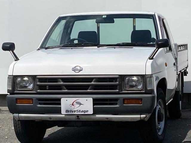 日産 ロングDX 走行28000キロ/ユーザー買取車/5MT/高床/ベンチシート/パワステ/車検3年12月まで