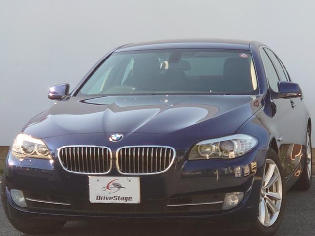BMW 523i ハイラインパッケージ HDDナビ・地デジTV/本革シート/バックカメラ/HIDヘッドライト/禁煙/ETC/クルーズコントロール/シートヒーター/パワーシート/スマートキー/オートライト/Bluetooth