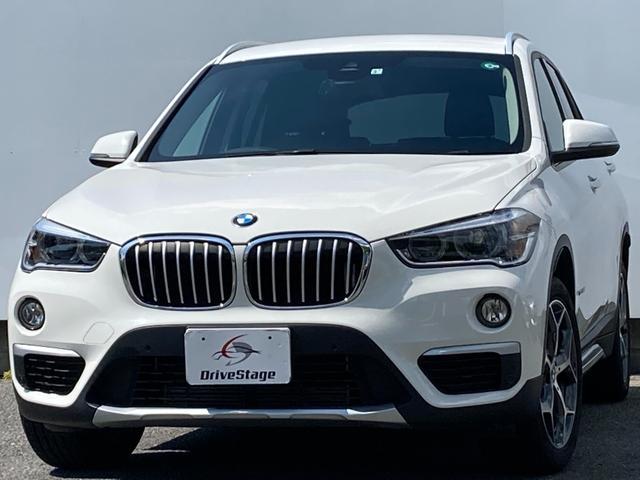 BMW X1 sDrive 18i xライン HDDナビ/バックカメラ/LED/スマートキー/パワーテールゲート/本革シート/パワーシート/ETC/インテリセーフティ/オートライト/シートヒーター/純正18インチアルミ/禁煙車