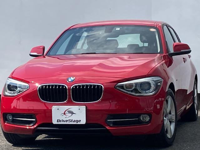 BMW 116i スポーツ 禁煙1オーナー/屋根付き車庫保管/純正HDDナビ/Bluetooth/DVD再生/USB/ETC/プッシュスタート/アイドリングストップ/HID/純正16アルミ/Bカメラ/車検R5年3月