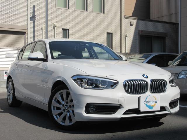 BMW 118i インテリジェントセーフティ 黒革シート 純正HDDメーカーナビ Bカメラ コーナーセンサー レーンキープ LEDヘッド 純正17AW PDC シートH クルコン 電格ミラー クルコン