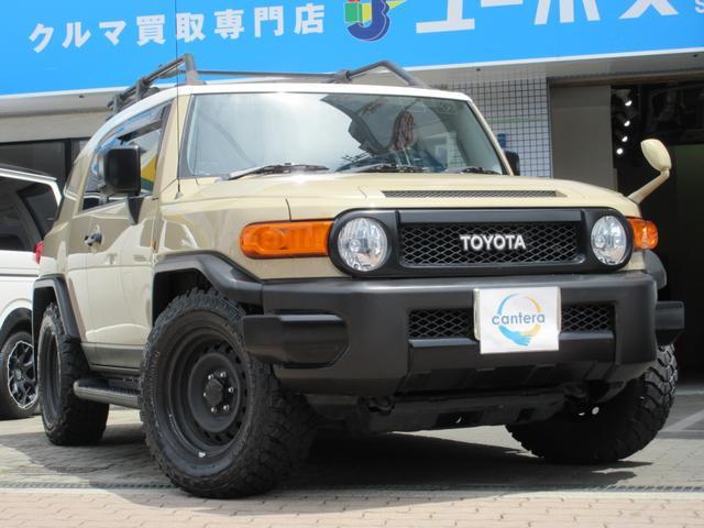 トヨタ FJクルーザー ベースグレード 純正ディーラーナビNSZT-W64フルセグ VSC TRC ABS ブレーキアシスト