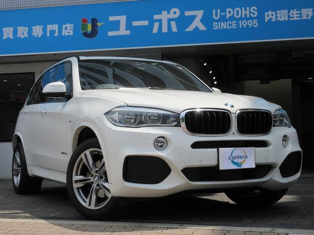 BMW xDrive 35d Mスポーツ 茶革シート ワイドサンルーフ レーンキープ 純正メーカーナビ フルセグ