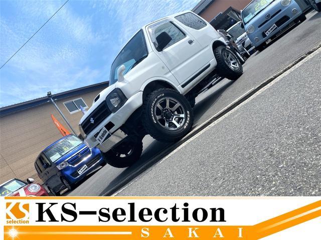 スズキ  ジムニー XC 4WD 社外ナビ フルセグ 社外ホイール リフトアップ キーレス ターボ 4WD