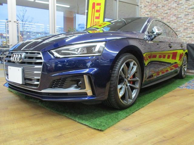アウディ S5スポーツバック Sportsシート・マトリクスLED・バーチャルCP