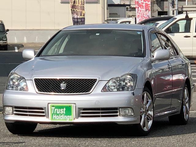 トヨタ アスリート プレミアム50thエディション /黒革/8型ナビ