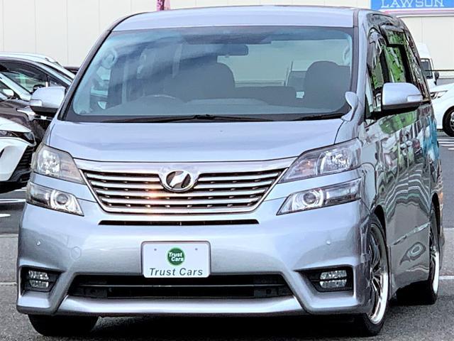 トヨタ 2.4Z /ワンオーナー/後列モニター/19アルミ/Tanabeダウンサス/フルセグTV/CD/DVD/AUX/バックカメラ/電動スライド/スマートキー/LEDポジション/HID/LEDフォグ/シートカバー