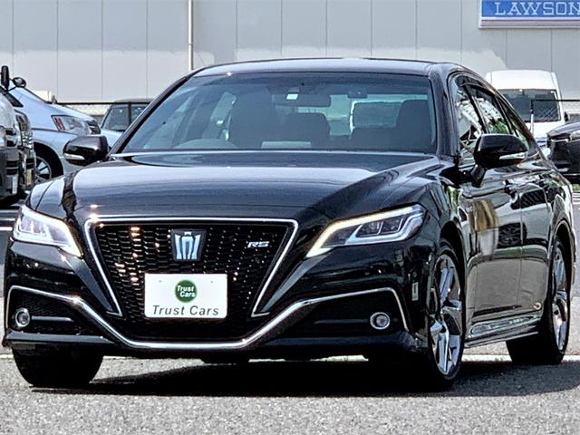 トヨタ RS /セーフティセンス/エアロ/デイライト/3眼LEDヘッド/LEDフォグ/LEDシーケンシャルウインカー/18AW/BSレグノ/Wディスプレイ/フルセグ/ブルーレイ/ドラレコ/ステアヒーター