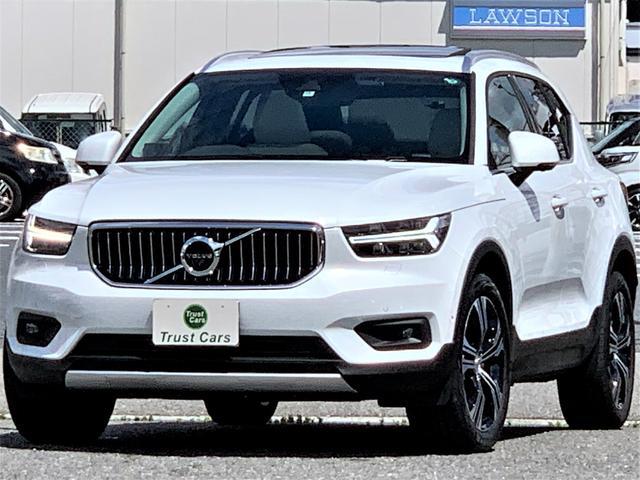 XC40(ボルボ) B4 AWD インスクリプション /現行型/サンルーフ/LEDヘッド&フォグ/19AW/本革シート/ハーマンカードン/ナビ/フルセグ/CarPlay/360°ビュー/前後ドラレコ/電動リヤゲート/パイロットアシスト/インテリセーフ 中古車画像