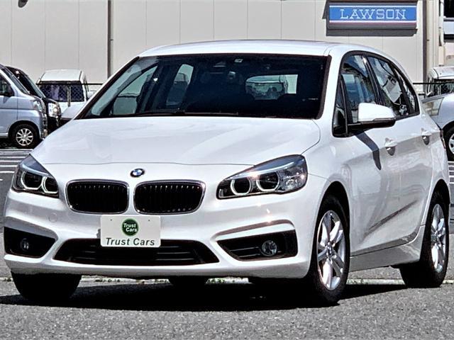 BMW 218iアクティブツアラー /ワンオーナー車/ドライビングアシスト/LEDポジション/LEDヘッド/LEDリヤコンビ/8型ナビ/フルセグ/DVD/BT/バックカメラ/ドラレコ/DSRC/新品タイヤ4本/車検整備付