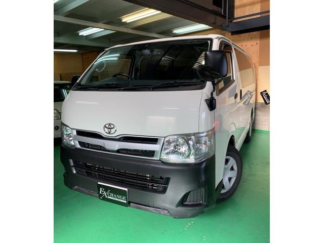 トヨタ ロングDX ガソリン 地デジナビ ETC バックカメラ