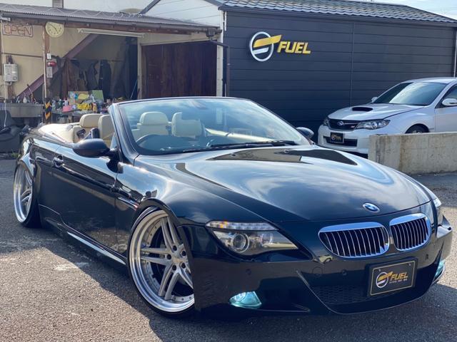 BMW 6シリーズ 650iカブリオレ エアサスキット HANMANN仕様