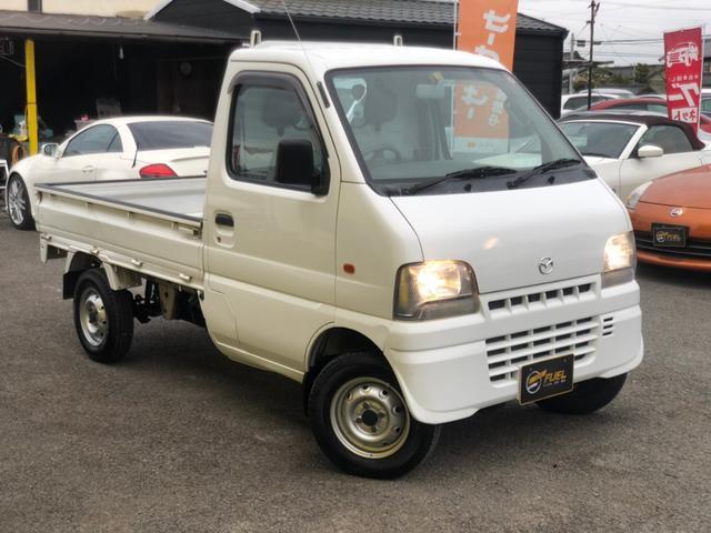 マツダ スクラムトラック KU エアコン パワステ 4WD オートマ