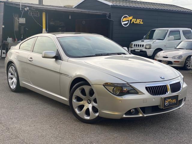 BMW 6シリーズ 650i 1オーナー 修復歴なし 新車保証書/記録簿