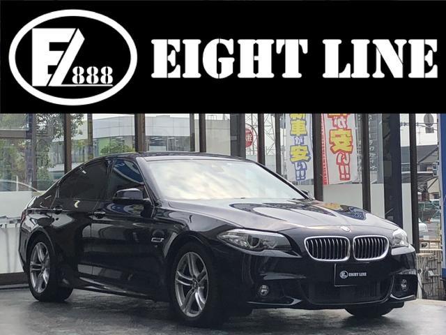 BMW 523d Mスポーツ 純正ナビ フルセグTV バックカメラ