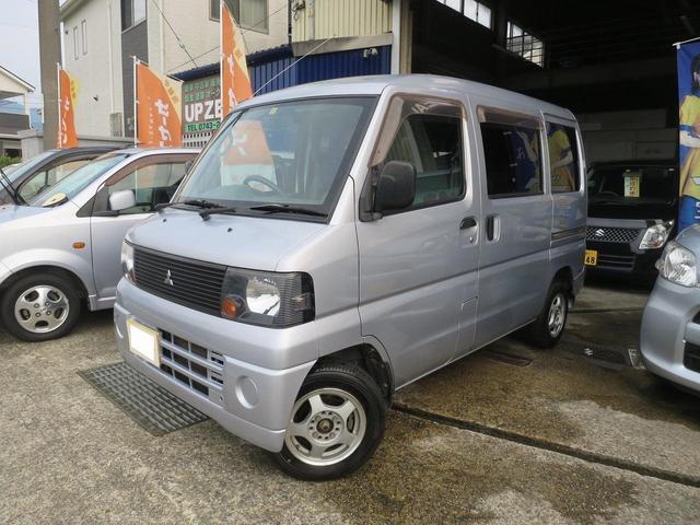 三菱 ミニキャブバン CD エアコン パワステ 4WD 5MT