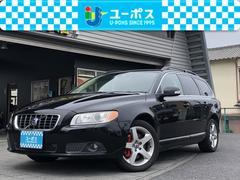 ボルボ V702.5T LE 革シート・純正ナビ