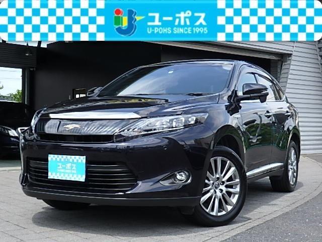 トヨタ E-Four プレミアム 4WD 禁煙・SDナビ・黒革シート