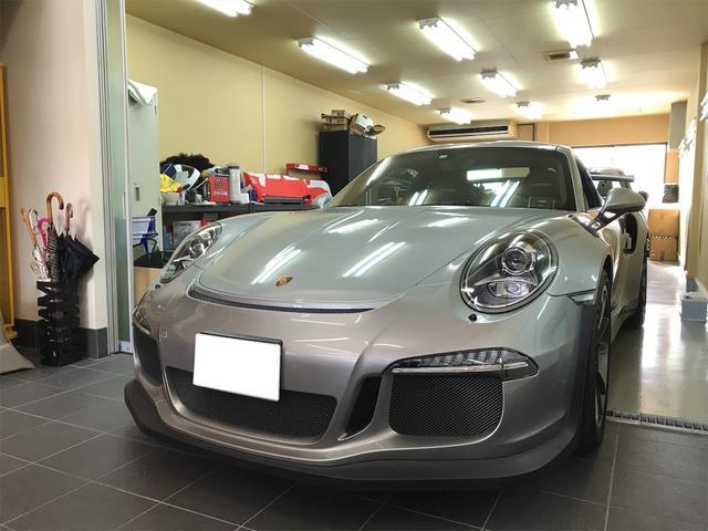 ポルシェ 911  911GT3RS ディーラー車 フロントリフティング付
