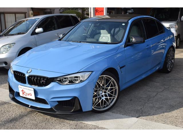 BMW M3セダン コンペティション Mパフォーマンスカーボンパーツ
