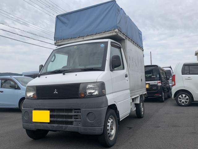 三菱 ミニキャブトラック  検査あり・令和2年12月まで・パネル幌車・事業用ナンバー取得のお手伝いさせて頂きます