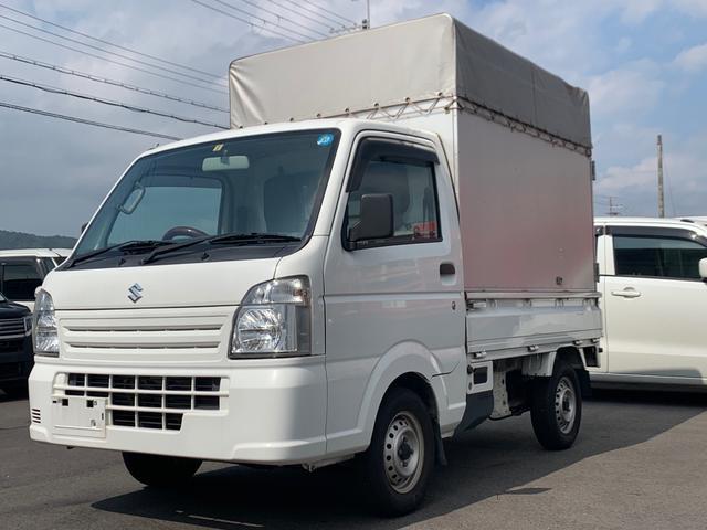 スズキ キャリイトラック KCエアコン・パワステ 平成26年式・幌車
