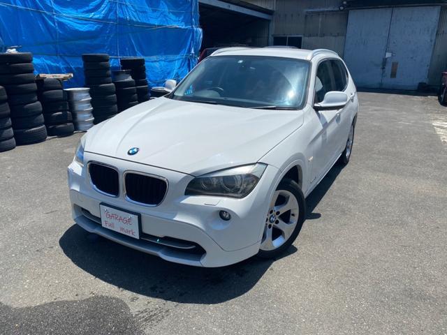 BMW X1 sDrive 18i HID/革調シート/AAC/プッシュスタート/
