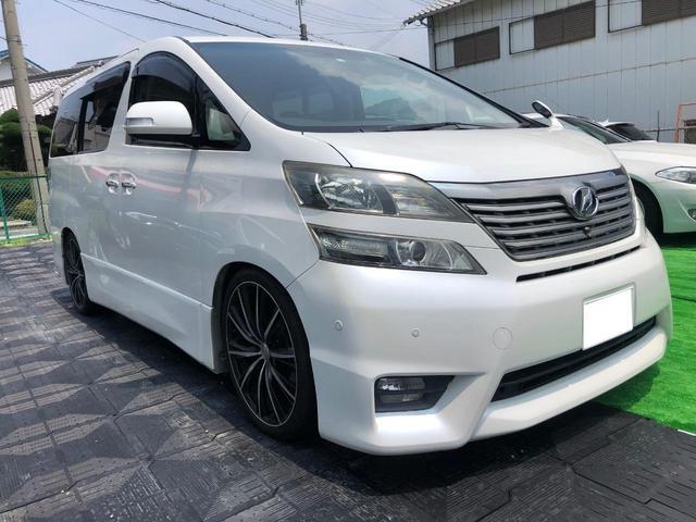 トヨタ 2.4Z HDDナビ ETC 外品AW20インチ 車高調