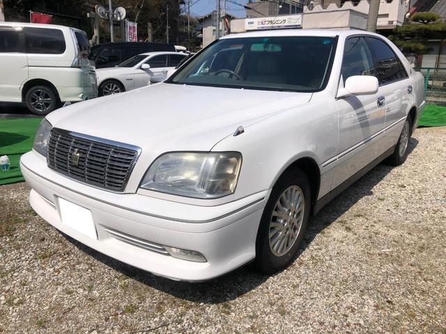 トヨタ ロイヤルサルーンG 禁煙車 ETC 地デジ 本革シート