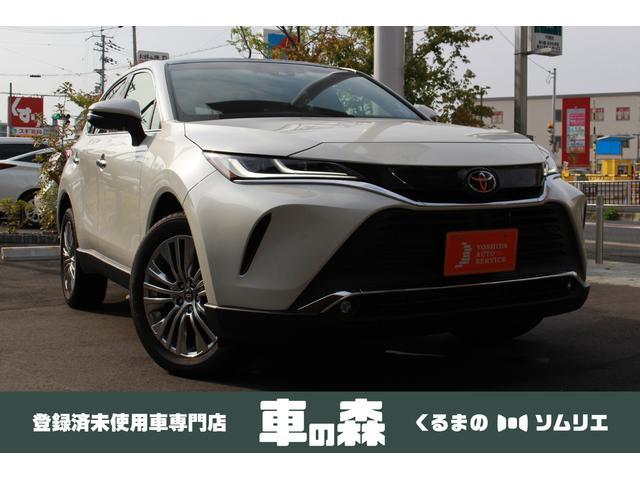 トヨタ Z レザーパッケージ 登録済未使用車 パノラマルーフ 革シート JBL