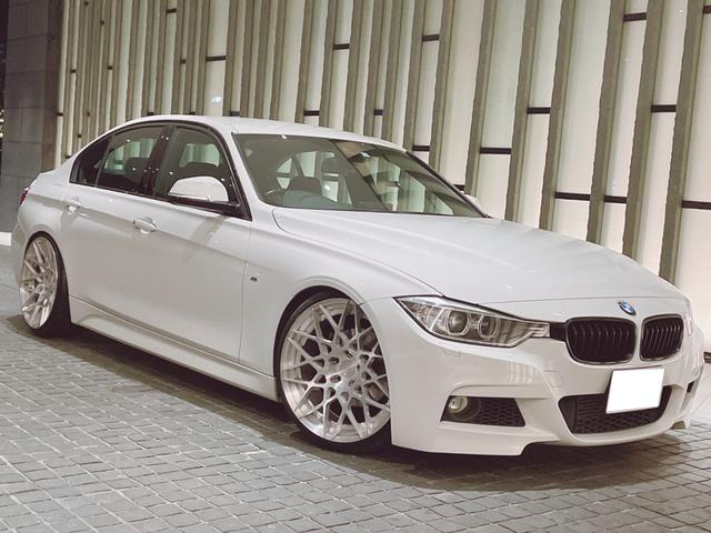 BMW 320d Mスポーツ 車高調 BCFORGED 20inch