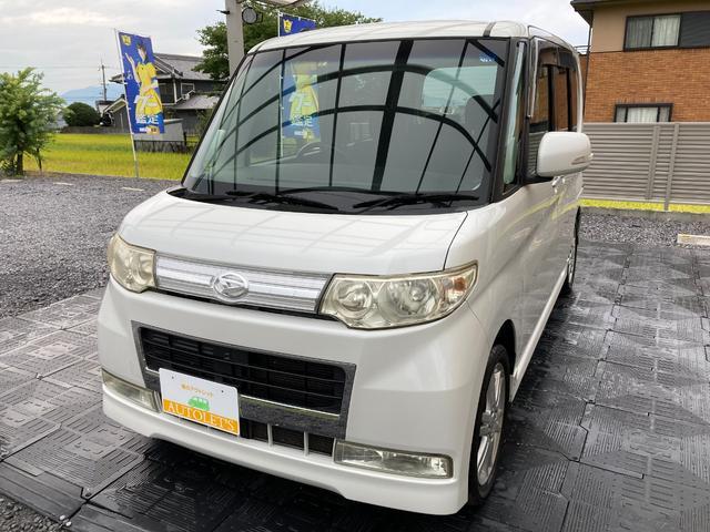 ダイハツ カスタムVセレクションターボ ユーザー買取・ターボ・スマートキー・左側電動スライドドア・社外オーディオ・HID・車検R4年9月