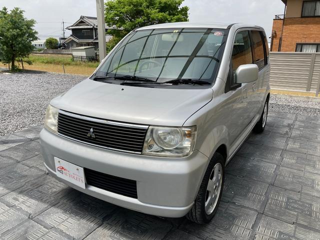 三菱 M ワンオーナー・禁煙車・キーレス・純正アルミ・足車