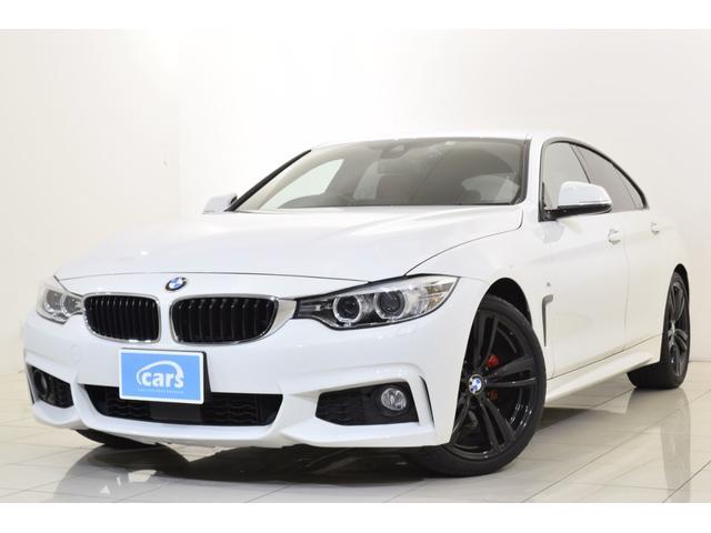 BMW 420iグランクーペ Mスポーツ 全国対応1年保証付 OP赤レザーシート OP19インチAW 純正ナビ アクティブクルーズコントロール ETC バックカメラ スマートキー 前席シートヒーター 前席パワーシート