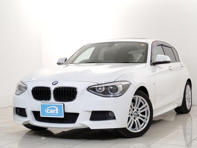 BMW 116i Mスポーツ サンルーフ iDriveナビゲーションPKG パーキングサポートPKG ETC バックカメラ ウィンカー付ドアミラー オートエアコン アイドリングストップ オートライト HIDヘッドランプ