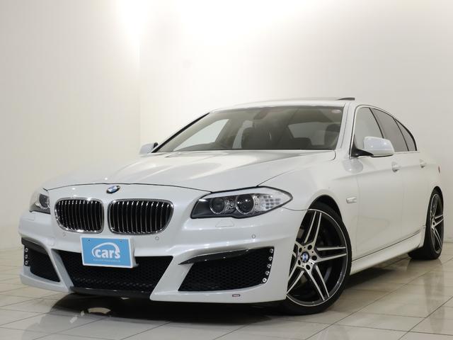 BMW 5シリーズ 523i ハイラインパッケージ /BEAMコンプリート/サンルーフ/黒革シート/HDDナビ/フルセグTV/バックカメラ/ミラー一体型ETC/20インチアルミ/シートヒーター/メモリー機能付パワーシート/コンフォートアクセス/禁煙車