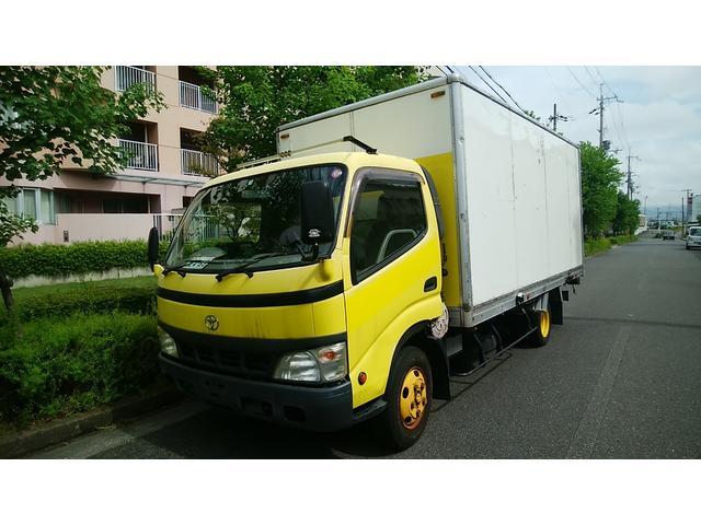 トヨタ ダイナトラック ロングフルジャストローDX 2トン積 ポータブルナビ ETC ABS 5速 3人乗