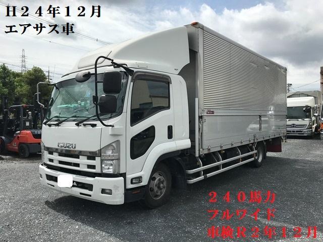 いすゞ  H24年・TKG-FRR90T2・アルミウイング・エアサス・フルワイド・240馬力・車検付