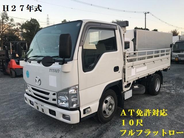 マツダ タイタントラック  H27年・TRG-LJR85A・平ボディ・2トン・フルフラットロー・スムーサー