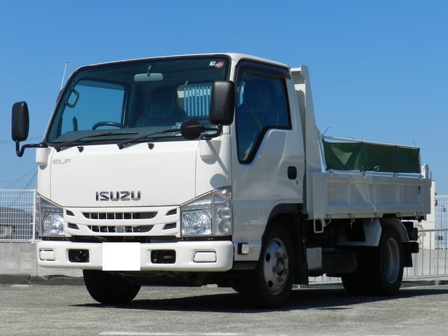 いすゞ エルフトラック 強化ダンプ 積載2t 車両総重量5t未満 コボレーン