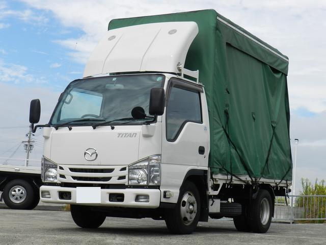 マツダ  カーテンレール式幌車 スムーサーシフト 積載1.5t 総重量5t未満